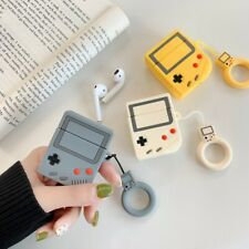 AirPods Case Cute 3D Game Machine Pattern Earphone Case For Airpods 2 Silicone