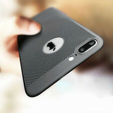 Ultra Thin Hollow Heat Dissipation Phone Case Back Cover For iPhone 5 6 6s 7 8 X