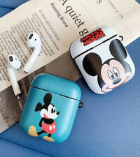 Cartoon Mickey Wireless Bluetooth Earphone Case Charging Box For Apple Airpods