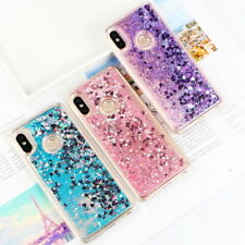 For Xiaomi Redmi Note 7 Pro Mi 9 SE A2 lite Quicksand Glitter Liquid Case Cover