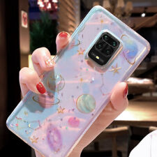 For Xiaomi Redmi Note 5 6 Pro Mi 8 SE A2 Lite Bling Cosmos Clear Soft Case Cover