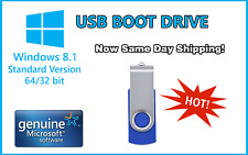 Windows 8.1 Pro 32/64Bit Install & System Recovery Tools on USB or Disk latest!!