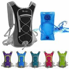 Hydration Pack Sports Vest Backpack 2L Water Bladder Bag Cycling Hiking Camping