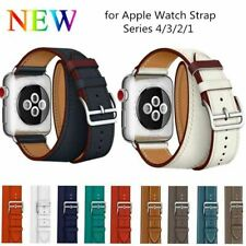 Double Tour Band for Apple Watch Series 4 3 2 1 Strap for iWatch Belt High Quali