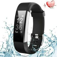 Fitness Tracker HR, Activity Watch Heart Rate Monitor, Waterproof Smart Band Ste