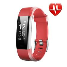 LETSCOM Fitness Tracker HR, Activity Watch Heart Rate Monitor, Waterproof Smart