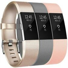 Replacement for Fitbit Charge 2 Strap (3 Pack), Watchbands Soft Comfortable Feel
