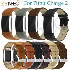 Replacement For Fitbit Charge 2 Bands Leather Straps Band Bracelet Watch Band Fo