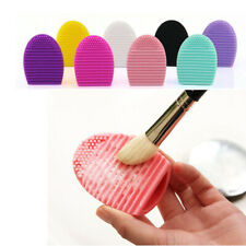 Make up Washing Brush Silicone Cleaning Mat Foundation Makeup Cleaner in 4 Color