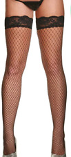 NEW High Quality Womens Sexy Thigh Fencenet Fishnet Stockings/Elasticated Hold u