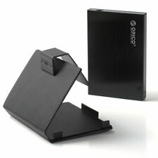 "ORICO Aluminum 2.5"" USB 3.0 SATA HDD/SSD Hard Drive Enclosure Caddy Case UK NEW"