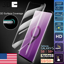 Case Tempered Glass Screen Protector For Samsung Galaxy S9 S8 Plus S9 Plus Note8