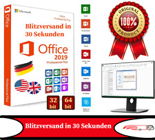 Microsoft Office 2019 Microsoft Office 2019 Professional Plus 32/64 Bit - 1 PC