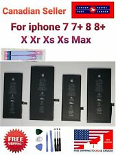 OEM Original Battery Replacement for Apple iPhone 7 7+ 8 8+ X Xr Xs Xs Max