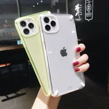 Sparkle Shockproof Clear Soft Back Case Cover For iPhone 11 Pro Max XS XR X 8 7