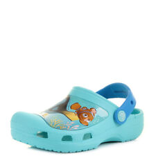 Kids Boys Girls Crocs Finding Dory Clog K Pool Blue Nemo Turq Clogs Shoe UK Size