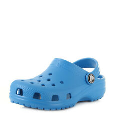 Kids Crocs Classic Ocean Blue Boys Girls Mule Clogs Sandals UK Size