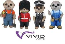 BLUE BROTHER BABY MEERKAT ORNAMENT BY VIVID ARTS IN GIFT BOX