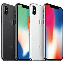 Apple iPhone X - 64GB or 256GB - NEW Never Activated - Full Warranty Unlocked