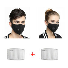 With Breathing Valve PM 2.5 Dust Cover Washable Anti-fog Anti Dust Face Mouth