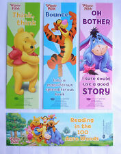 SET/4 Different Designs  Bookmarks    WINNIE THE POOH