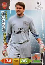 FC ARSENAL - Basiskarten PANINI Adrenalyn XL UEFA Champion League 2011-2012