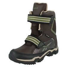 LADIES REEBOK THINSULATE ADVENTURE TRAINER BOOTS  BROWN/GREEN STYLE -  CANYONARO