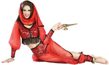 ARABIAN WOMEN COSTUME BELLY DANCER INDIAN SHEBA HAREM PRINCESS FATIMA HQ 90792