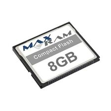 8GB Compact Flash Memory Card for Canon PowerShot S500 & more
