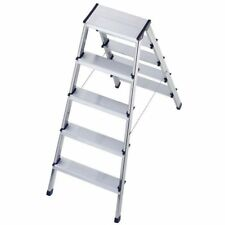 Hailo L90 Double Sided Step Ladders Trade Fully Certified