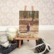 Personalised Mini Canvas plus Easel for desktop - Any Photo