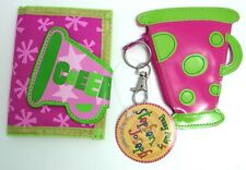 Cheerleading Girls Coin Purse or Folding Purse Great Gift