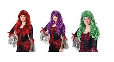 #Cheryl Wig Gothic Adult Cosplay Party Fancy Dress Outfit Cartoon Accessory