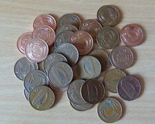 Used Irish Decimal Penny Coin Collection Various Years