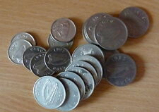 Used Irish Decimal Five Pence Coin Collection 5p Circulated Various Coins