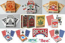 BICYCLE BEE CLUB SPECIAL 77 92 PLAYING CARDS DISTRESSED EXPERT BACK DRAGON BACK