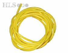 YELLOW silicone rig tube - 0.5, 0.75, 1.0, 1.5, 2.0 and 3.0mm ID HLS tackle