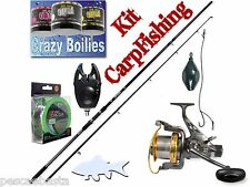 kit carpfishing completo pesca carpodromo lago fiume carpa carp fishing PB0183