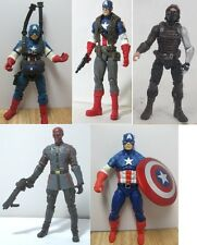 Marvel Avengers CAPTAIN AMERICA CAPITAN winter soldier RED SKULL  Action figure