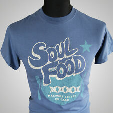Soul Food Cafe The Blues Brothers Movie Themed Retro T Shirt Elwood Cool