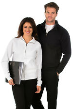 Mens/Ladies Full Zip Sweat Jacket, Size XS (38-39), Suitable for Work/Leisure