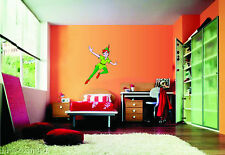 WALL STICKERS STICKER ADESIVO DESIGN DISNEY PETER PAN CAPITAN UNCINO HOOK TRILLI