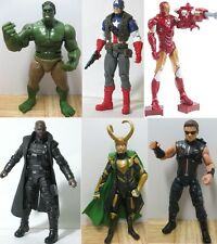 THE AVENGERS HULK CAPTAIN AMERICA NICK FURY LOKI Thor Action figure
