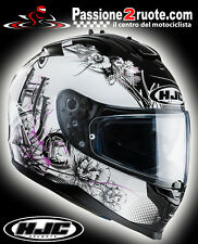 Casco helmet capacete casque integralhelm lady Hjc Is-17 Is17 Barbwire Mc 31