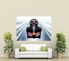 Red Bull Formula 1 Car Giant 1 Piece  Wall Art Poster VE102