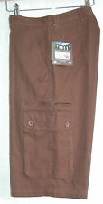 """MENS CRAGHOPPERS CANVAS CARGO SHORTS HIKING / CASUAL 30"""" 32""""  & 42"""" WAIST  £35"""