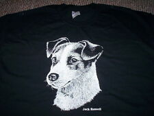 JACK RUSSELL DESIGN MENS SIZE T-SHIRT choice of size and colour DOG