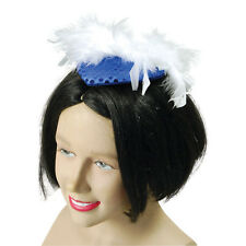#Gangster Moll Hats All Colours Fancy Dress Adult