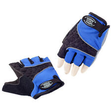 Eigo 3D-Back Sports Cycling / Cycle Fingerless Mitts / Gloves Road / MTB - Blue