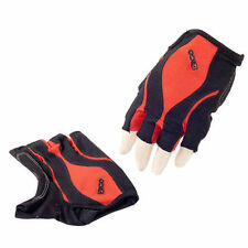 Eigo Fingerless Sports Cycling Gloves / Mitts Road / Mountain Bike - Red